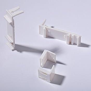 klemmtr ger klemmfix universal metall f r rollo und jalousie ohne bohren. Black Bedroom Furniture Sets. Home Design Ideas