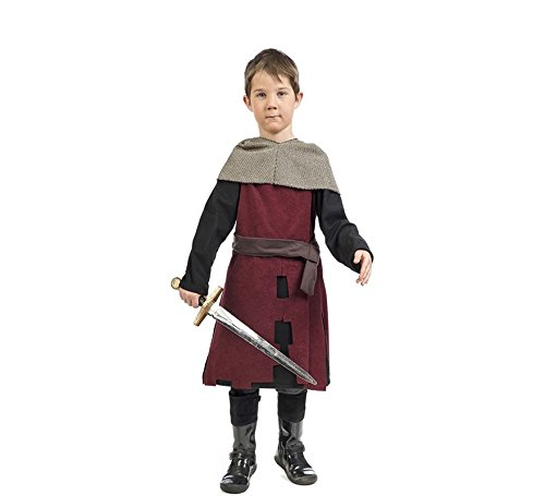 Zzcostumes Costume da Guerriero Medievale Limitato per un bambino
