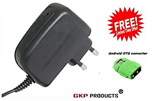 GKP Products ® High Speed 2.1 Amp Chrger Compatible for All Smartphones with free OTG