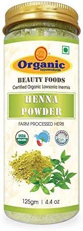 byPurenaturals Organic Henna Herb Powder - 125Gm