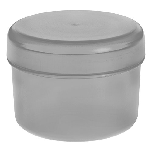 Koziol Rio Vorratsdose mit Deckel, Aufbewahrungsdose, Frischhaltedose, Kunststoff, Cool Grey, 8 cm,...