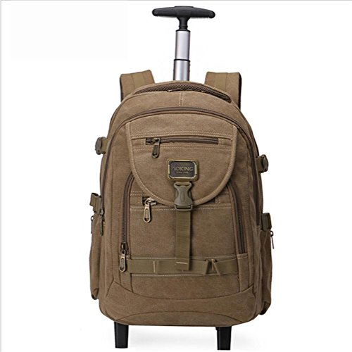 Rucksack-Laptop-Rucksack-Backpacks-Lightweight-2-Wheel-360Rotate-156-Backpack-for-BusinessTravelLuggage-Suitcase-Daypack