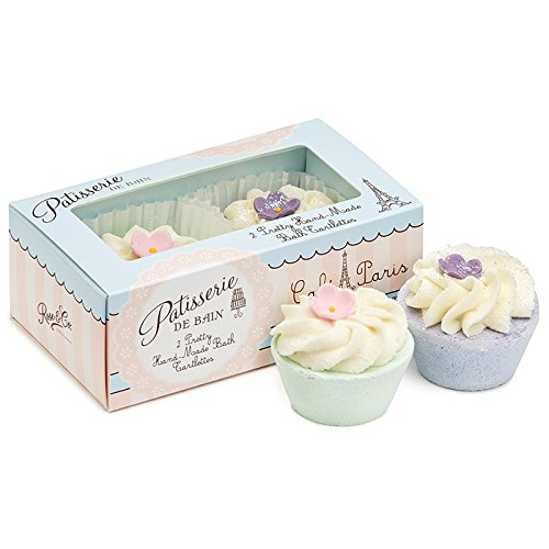 Rose And Co Patisserie De Bain Handmade Bath Tartlettes Rose & Violette 2 x 45g