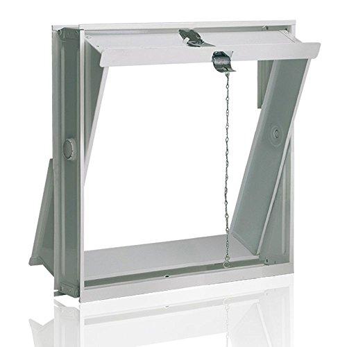 Ventana oscilobatiente: para el montaje en la pared de bloques de vidr
