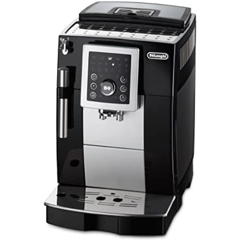 DeLonghi ECAM 23.210 B - Cafetera compacta superautomática, negra