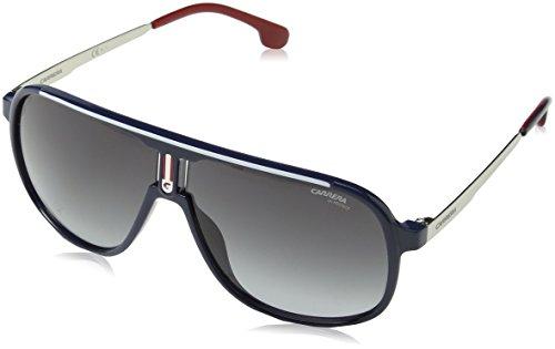 Carrera Gradient Square Unisex Sunglasses - (CARRERA 1007/S PJP 629O|62|Grey Color) image