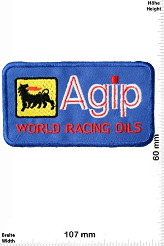 patches-agip-world-racing-oils-blue-motorsport-ralley-car-motorbike-iron-on-patch-applique-embroider