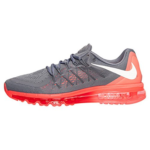 Nike Air Max 2015, Running Entrainement Homme Cool Grey/Hot Lava/Bright Crimson/White