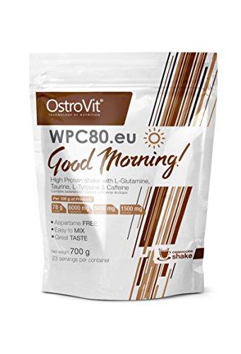 ostrovit wpc80. EU Good Morning Cappucino Shake, 1er Pack (1X 700G)