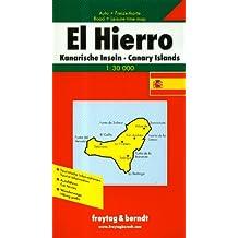 El Hierro. Auto- und Wanderkarte. 1 : 30 000: Road Map