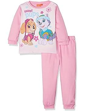 Nickelodeon Baby-Mädchen Zweiteiliger Schlafanzug Paw Patrol Colorful Sweet Pups