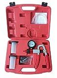 SLPRO® KFZ Vakuumpumpe Druckpumpe Bremsenentlüfter Bremsenentlüftung Vakuum Druckprüfer...