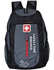 Swiss Military Grey and Black Laptop Bag (LBP40)