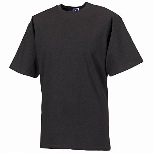 Russell Europe Classic Heavyweight Ringspun T-Shirt - Black - M - American Heavyweight T-shirt