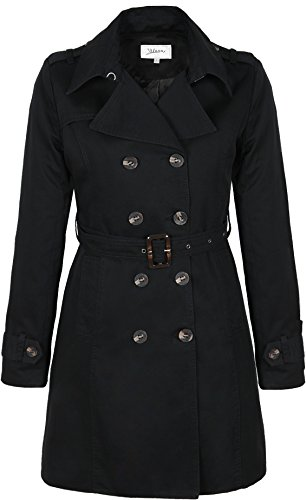M118 Damen TRENCHCOAT KURZMANTEL