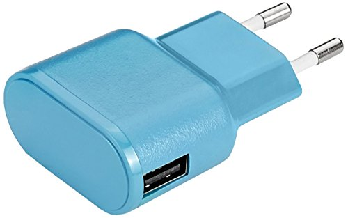 Aiino Apple Wall Charger USB-Netzteil Ladegerät Steckdose 1 USB Port 1A - Blau -