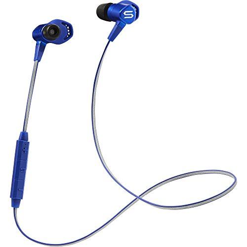SOUL Run Free Pro HD - Wireless kabellose In-Ear Sport Kopfhörer Bluetooth 4.0 für Smartphones (iPhone X, Samsung Galaxy S9 uvm), blau (Wireless Soul Electronics)