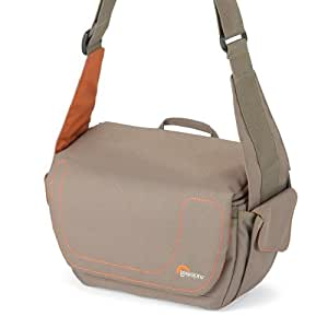 Lowepro Impulse 130 Shoulder Bag for Camera and Camcorder - Chestnut/Orange