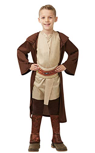 Star Kostüm Jedi Kinder Wars Robe - Star Wars - Jedi Classic Tunika (Rubie's Spain) L braun