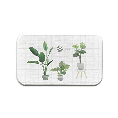 ZCHPDD Square Diatom Mud Coaster Waterproof Coaster Desktop Décoration Home Coaster Pratique Pattern 03 13 * 8Cm*6Pcs