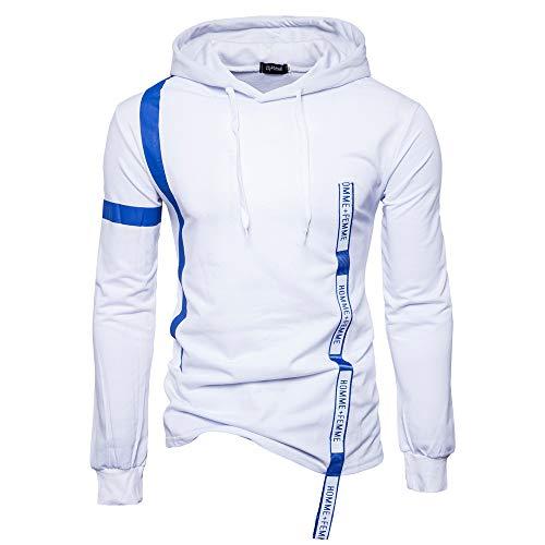 Qinsling felpa con cappuccio uomo inverno maglione elegante maniche lunghe distintivo hoodie sweatshirt camicetta dolcevita tinta unita tops