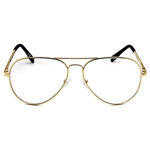 e1238c9e4bc AMZTM Outdoor Reading Glasses Double Bridge Metal Frame Non ...