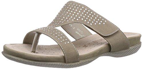 Remonte R7452, Chaussures de Claquettes femme Beige - Beige (Galet 60)