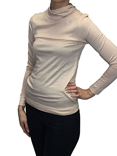 rich&royal Damen Shirt mit Rollkragen rose Rose