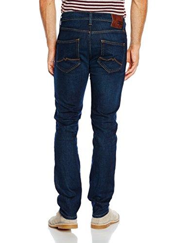Mustang Herren Slim Jeans Vegas Blau (dark rinse used 593)