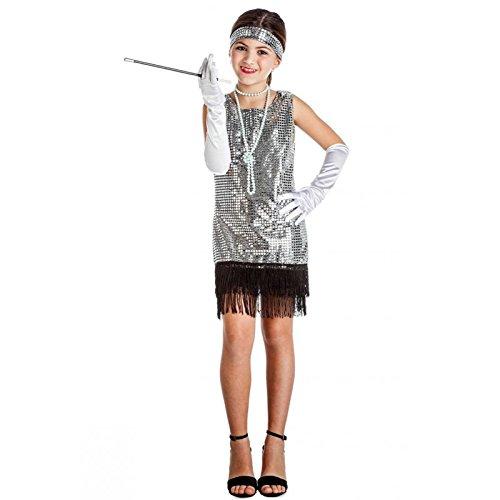 Imagen de disfraz charleston plata 10 12 años
