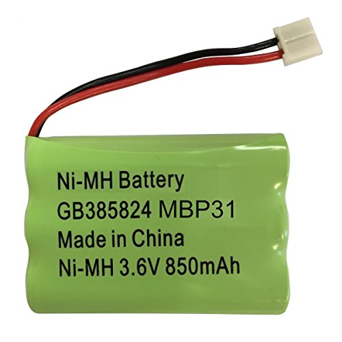 Motorola MBP31Baby monitor pacco batteria ricaricabile Ni-MH 3.6V