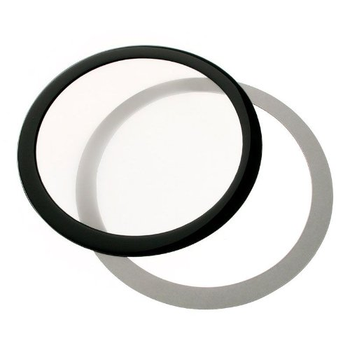 DEMCiflex Ronda Dust Filter 140mm - negro/blanco