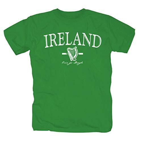 Ireland T-Shirt -Green- (M) Notre Dame Shamrock Green