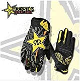 Thor Motocross MTB Glove Sport Multi Rockstar – Model 2016 T-Shirt – Black/Yellow, NOIR VERT BLANC