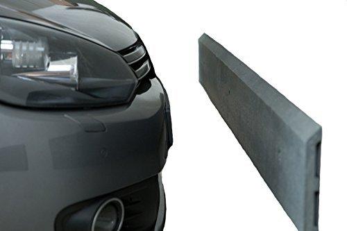 Preisvergleich Produktbild 2er Pack Wandschutzleiste, 1750x200x30, Grau