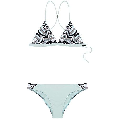 Chiemsee Damen Mit Besonderer Rückenlösung Bikini, Mehrfarbig (D1072 Graphic Bw), M