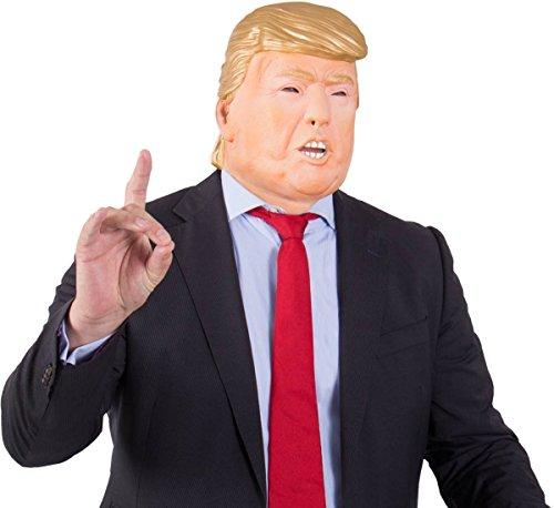 Partycolare - Carnevale - Maschera Donald Trump in gomma