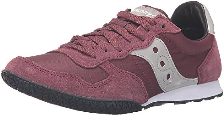 Saucony Originals Women's Bullet Sneaker, Burgundy, 36 B(M) EU/3.5 B(M) UK