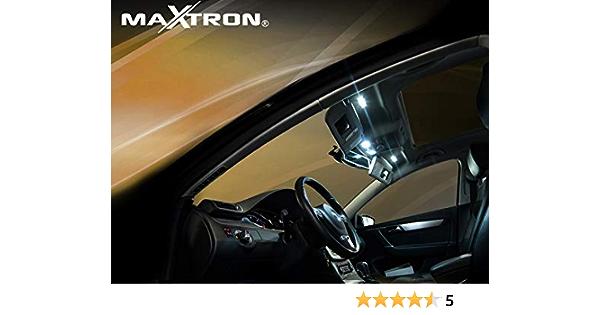 Maxtron Innenraumbeleuchtung Set Für Auto Passat B5 Gp Typ 3bg 6000k Kalt Weiß Beleuchtung Innenlicht Komplettset Auto
