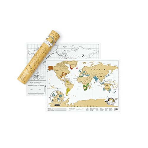 Luckies of London - Mapa mural para rascar del...