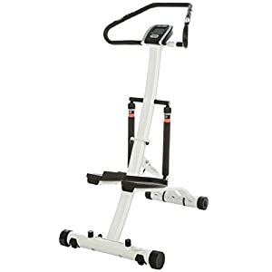 Stepper Fitnessgerät Beintrainer Handpulssensor Heimtrainer Display