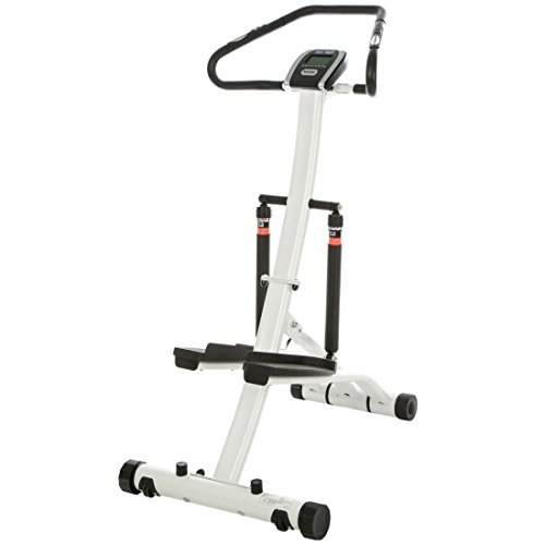 Baltico Stepper Fitnessgerät Beintrainer Handpulssensor Heimtrainer Display