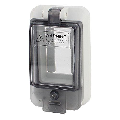 Industrielle Leistungsschalter (sourcingmap® Wasserdichtes Klar 2 Position Verteilerkasten Abdeckung Leistungsschalter)