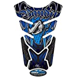 Protege Depósito Suzuki Bandit azul