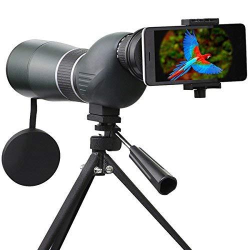 Telescopio Monocular, SGODDE 15- 45 x 60 Zoom impermeable monocular telescopio de un solo tubo...
