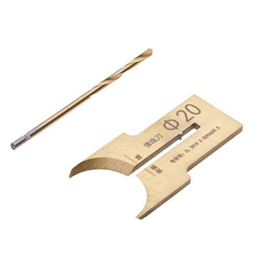 MagiDeal 6-30mm Hartmetall Ball Blade Holzbearbeitung Werkzeug Perlen Bohrer Bit - 20 mm