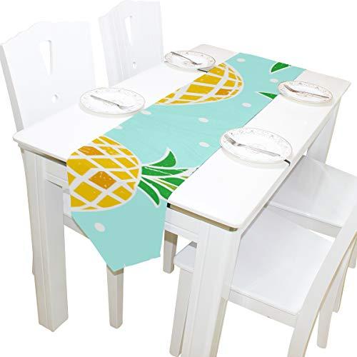 cht Muster Kommode Schal Tuch Abdeckung Tischläufer Tischdecke Tischset Küche Esszimmer Wohnzimmer Haus Hochzeit Bankett Dekor Innen 13x90 Zoll ()