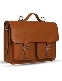 UBERBAG Windsor piedra Crazy Horse de piel bolso/maletín/mochila/bolsa para portátil