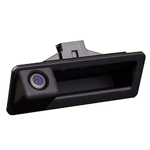 Navinio Universal Auto Rückfahrkamera Farbkamera Einparkkamera mit 4IR Nachtsicht und 170° Winkel für Rückfahrsystem Einparkhilfe - Wasserdicht & Stoßfest für Trunk Handle BMW 320Li/530i/328i/535Li/F10/F11/X3 F25/F30/ X1/X3/X5/X6