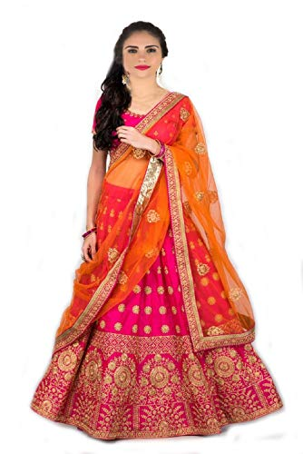 MRS WOMEN Cotton Silk Saree (Icx_Beige_Free Size)